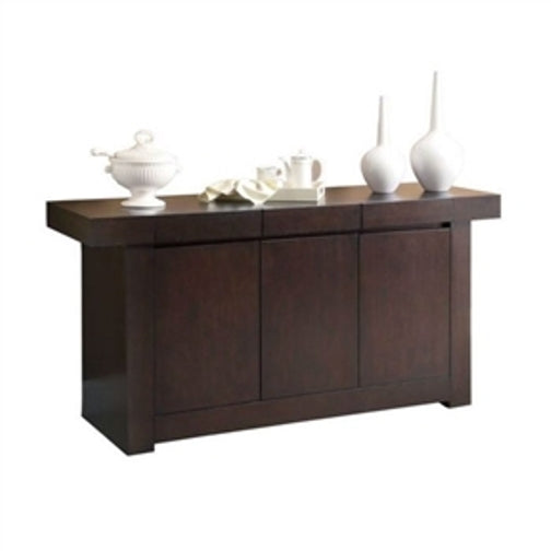 ... Modern Dining Room Sideboard Server Table Cabinet In Cappuccino