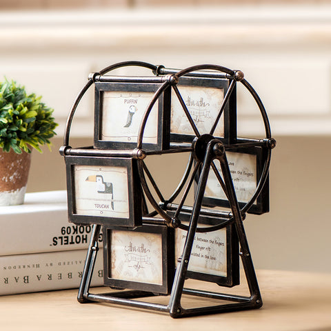 Ferris Wheel style Rotating Picture Multi-Frame
