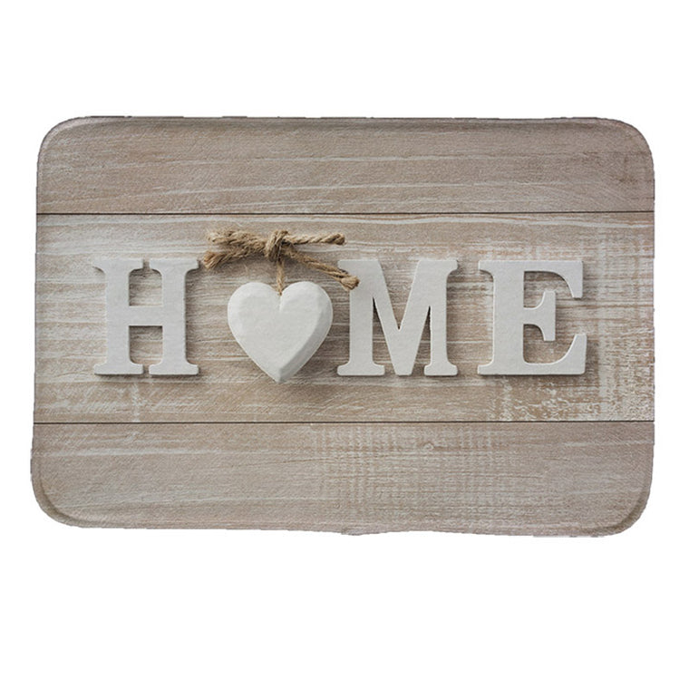 Home Style Print Doormat Non-slip Kitchen Entryway Floor Mat