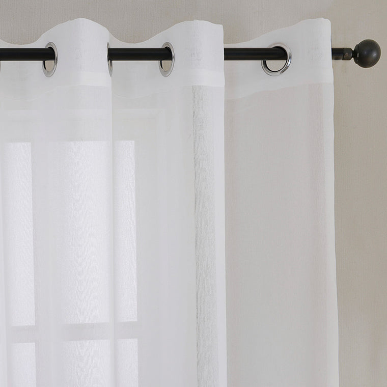 Sheer Tulle Window Curtains for Living Room Bedroom