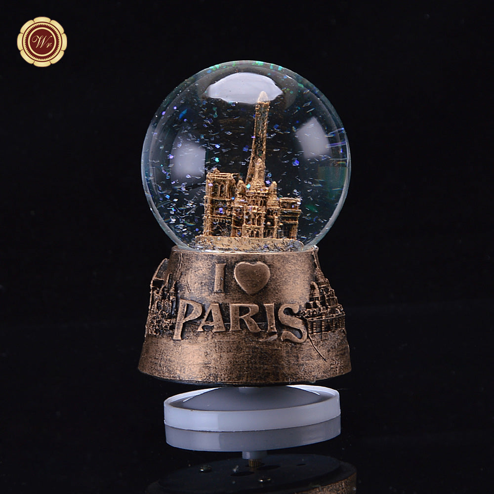 Hand Made WR Iron Decoration Globe In The  Paris Style!
