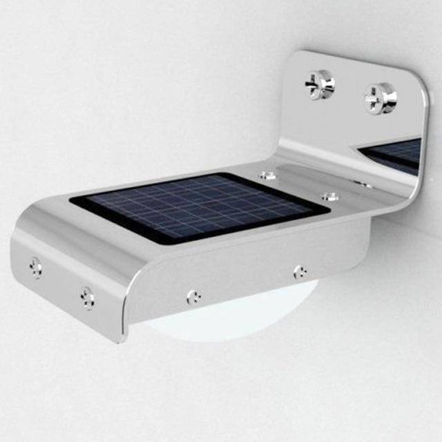 Outdoor Solar Powered Motion Sensor Light With 24 LED Induction
