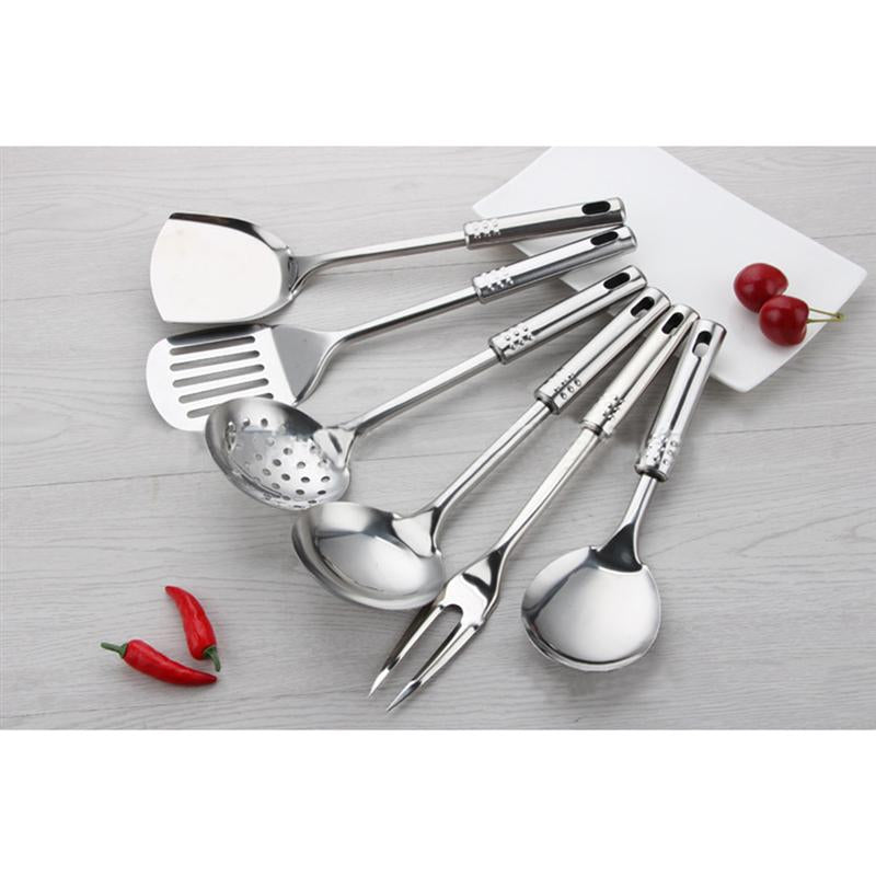 ROSENICE 7piece Stainless Steel Cooking Utensil Set