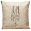 Hope Anchors the Soul Pillow Cover