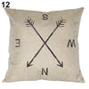 Arrow Weather Vane Pillow Cover
