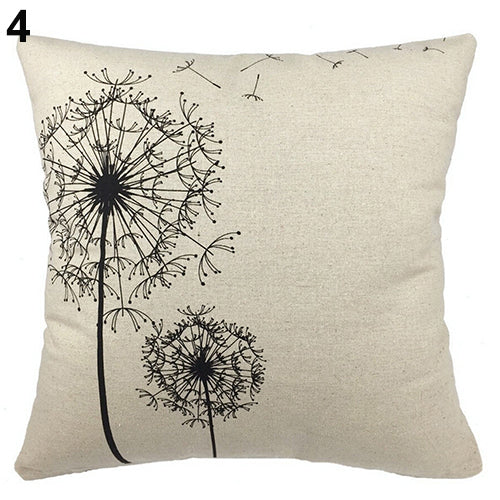 Dandelion Pillow Cover