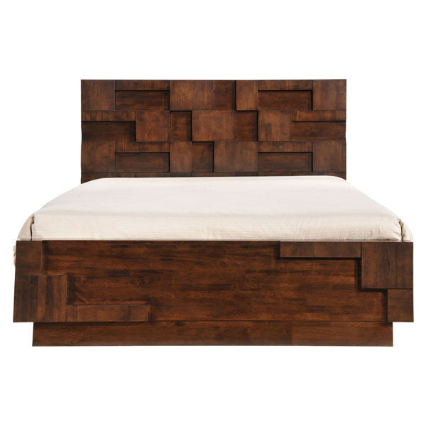 Top Quality~San Diego Bed in Walnut ~ King Size or Queen Size