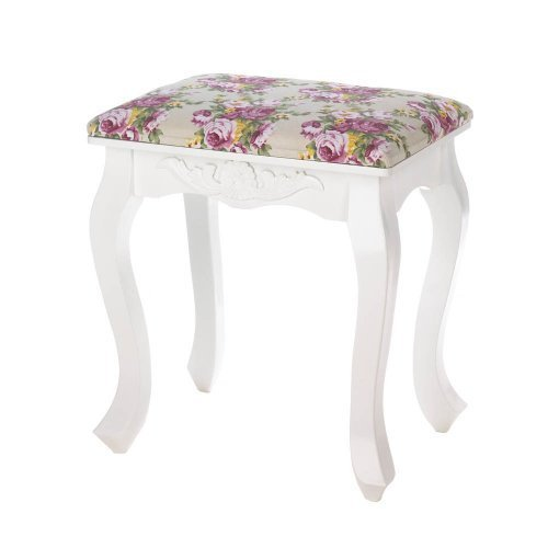 Floral Oasis Stool