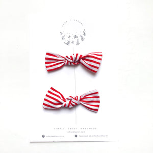 LILLY PIGTAIL SET / Candy Cane
