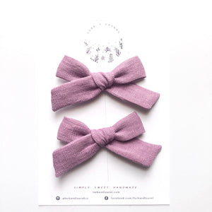 POPPY PIGTAIL SET / Sweet Pea