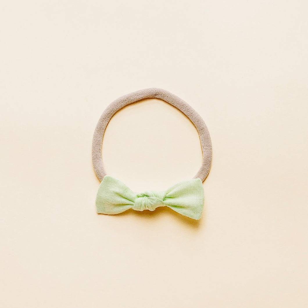 LILLY BOW / Pear