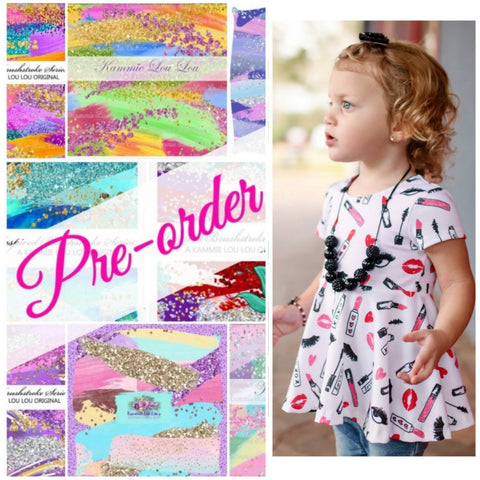 Brushes Full Print Peplum - CLOSES 14TH AND 29TH EACH MONTH