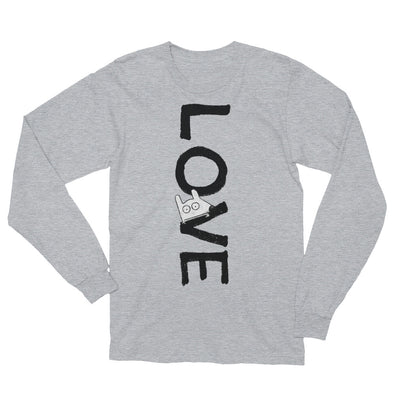 stinky dog love long sleeve unisex tee