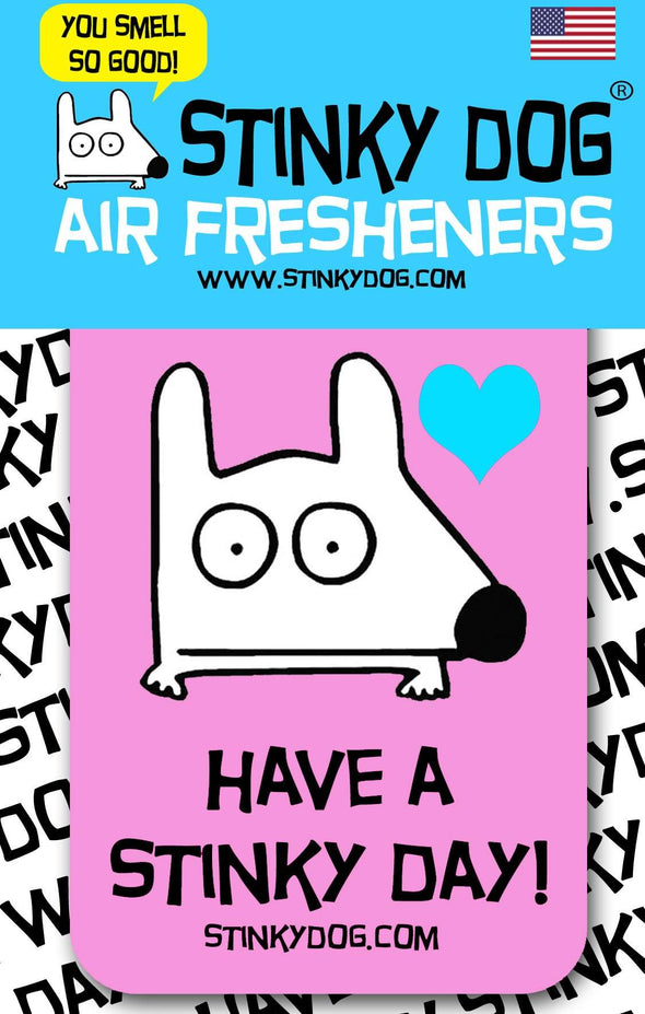 Stinky Dog air freshener berry scent