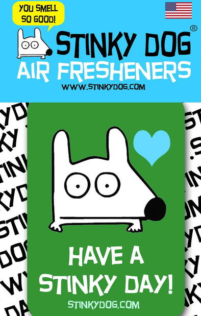 Stinky Dog - Pine Air Freshener