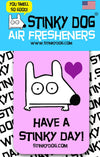 Stinky Dog - Vanilla Black Raspberry Air Freshener