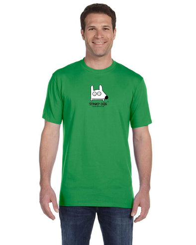 Stinky Dog Classic Logo T-Shirt - Choose from 8 Colors!