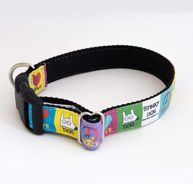Stinky Dog - Dog Collar | Peace Love Dog