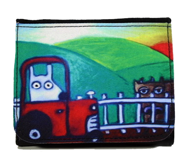 stinky dog farm wallet