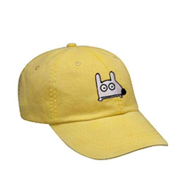 Stinky Dog KIDS Classic Cap | Lemon Yellow