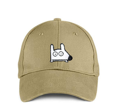 stinky dog khaki cap hat