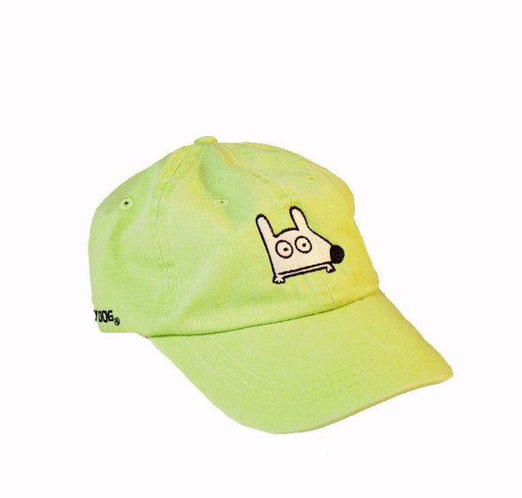 Stinky Dog KIDS Classic Cap | Lime Green