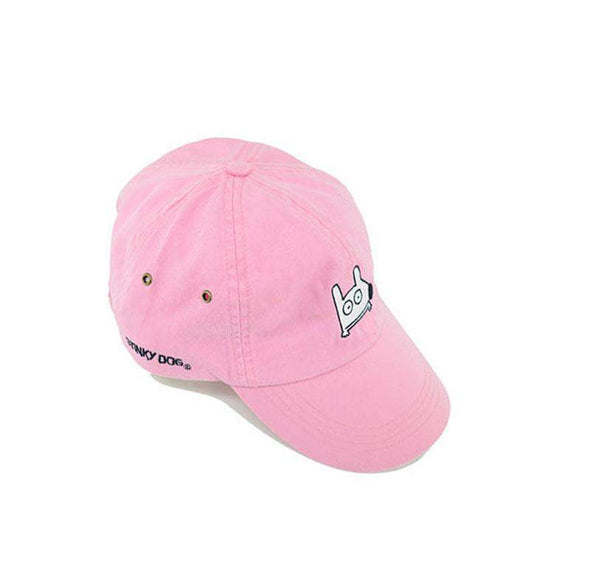 Stinky Dog KIDS Classic Cap | Light Pink