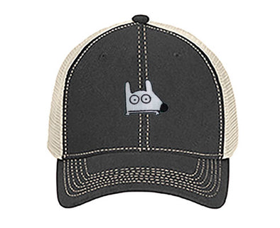 Stinky Dog-Classic Trucker Hat | Stone Washed Navy