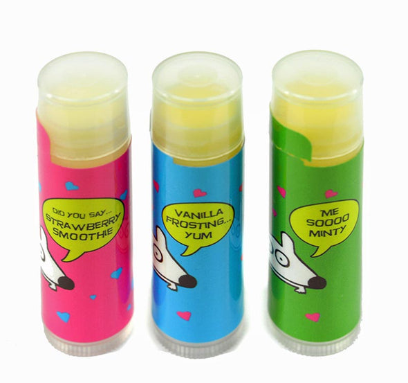 stinky dog lip balm
