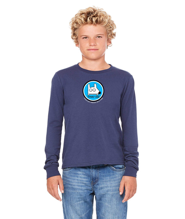 Stinky Dog Kids Long Sleeve Logo T-shirt