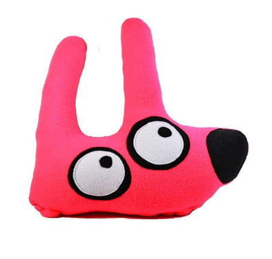 Stinky Dog Extra Large Neon Pink Stinky Dog-Plush