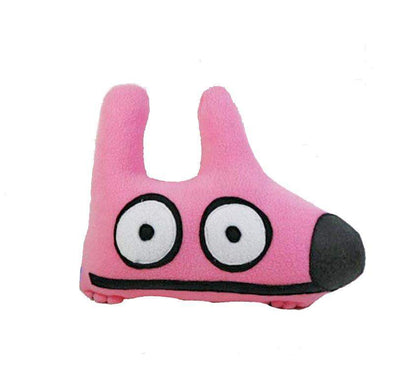 Stinky Dog Bubblegum Pink Stinky Dog-Plush