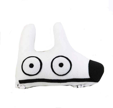 Stinky Dog White Stinky Dog-Plush