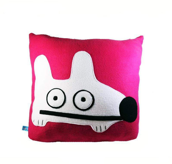Stinky Dog Raspberry Pillow-Plush
