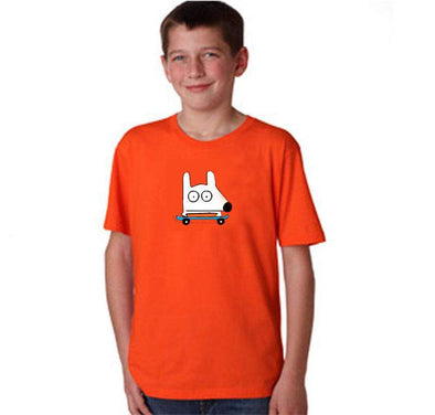Stinky Dog Kids Skateboard T-Shirt
