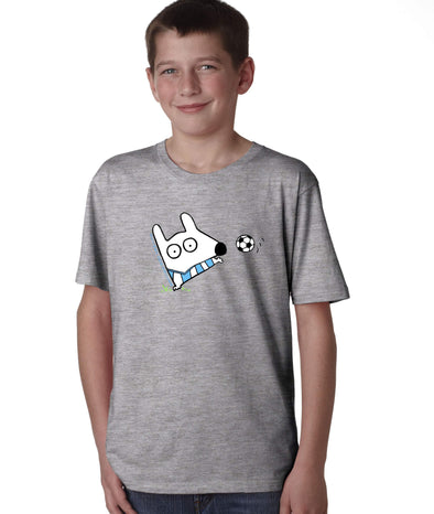 Stinky Dog Kids Soccer T-Shirt