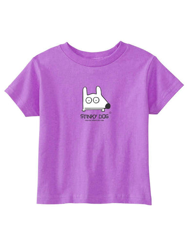 Stinky Dog Toddler Classic Lilac T-Shirt