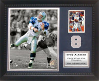 11x14 Card Frame - Troy Aikman Dallas Cowboys