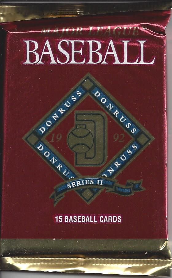1992 Donruss Baseball