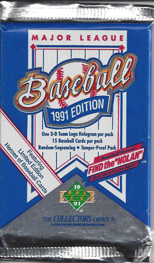 1991 Upper Deck Baseball