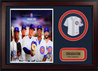 12x18 Mini Jersey Patch Frame - 2014 Chicago Cubs
