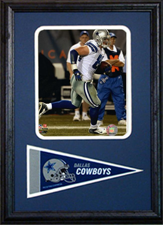 12x18 Pennant Frame - Jason Witten Dallas Cowboys