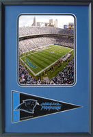 12x18 Pennant Frame - Carolina Panthers Stadium
