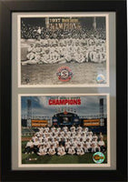 12x18 Double Frame - Chicago White Sox Champions