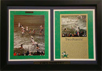"12x18 Double Frame - Notre Dame ""Hometown Heroes Two Points"""