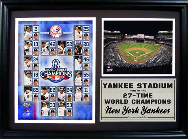 12x18 Photo Stat Frame -  New York Yankees Champions