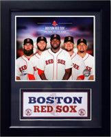 11x14 Deluxe Frame - 2014 Boston Red Sox