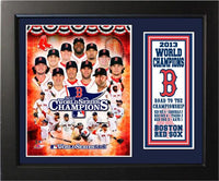 11x14 Deluxe Frame - Boston Red Sox 2013 World Series Champions