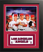 11x14 Deluxe Frame - 2014 Los Angeles Angels