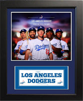 11x14 Deluxe Frame - 2014 Los Angeles Dodgers
